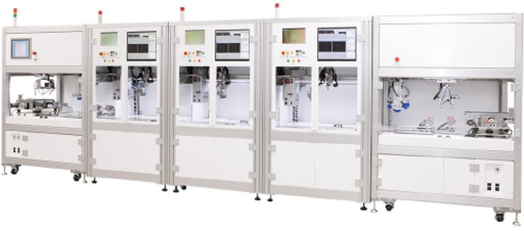 Inline soldering equipment