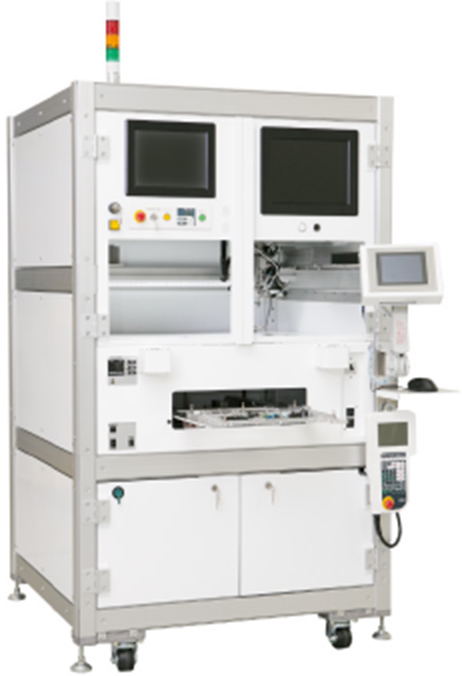 Cell production soldering equipment