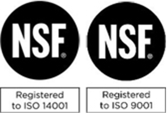 ISO 14001 / ISO 9001 Registered image