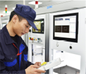 The same process between Japanese and Shanghai factories