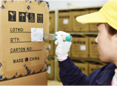 輸出・輸入管理の様子